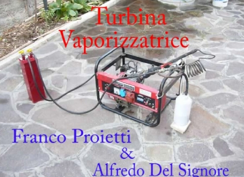 turbina vaporizzatrice